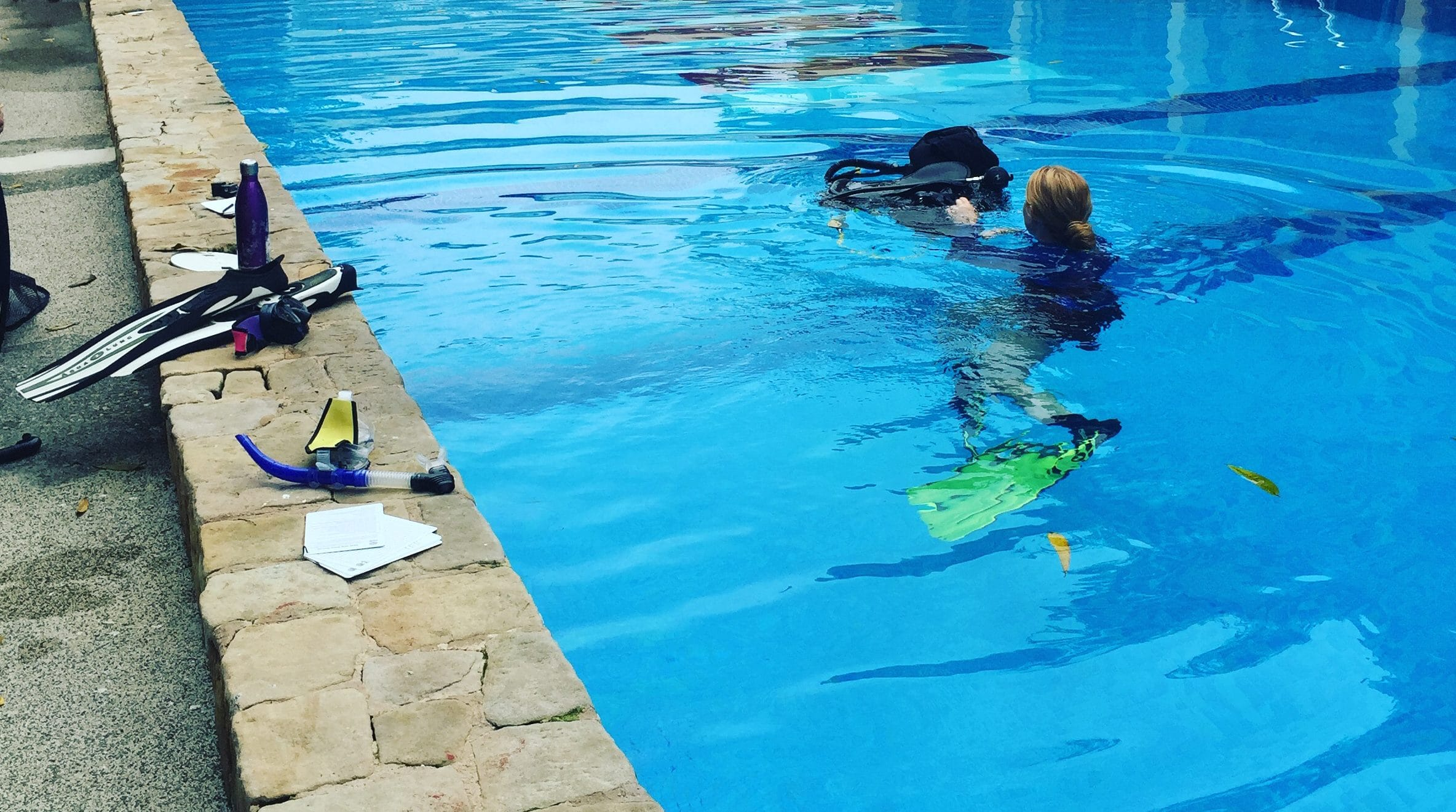 What is scuba diving teaching you?