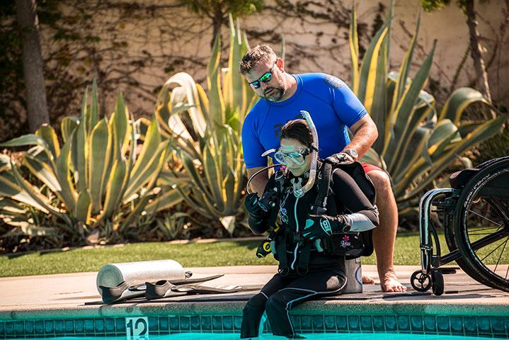 Adaptive Teaching – Bringing scuba to everyone