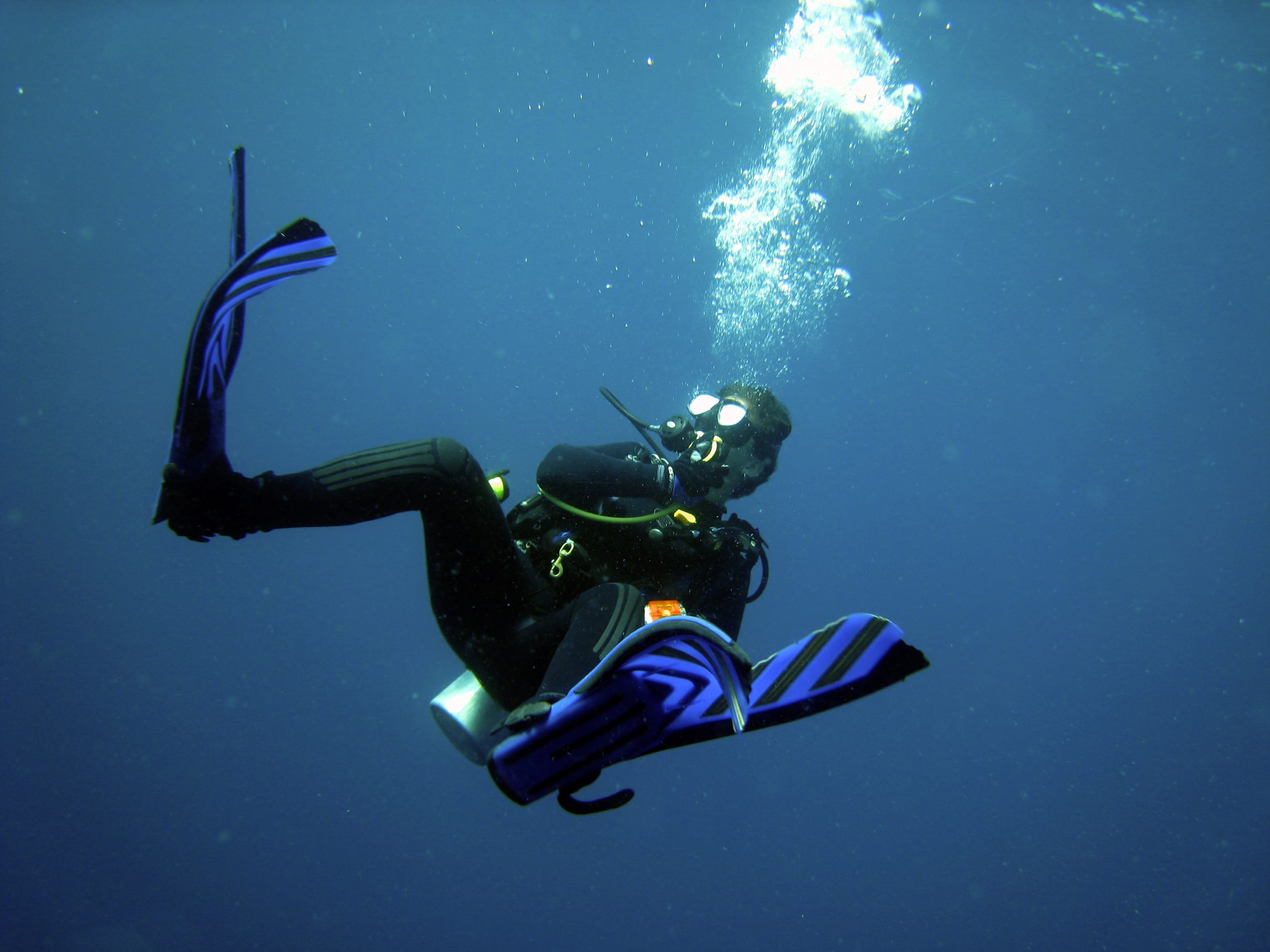 Scuba Mum - scuba diving trainer and mentor