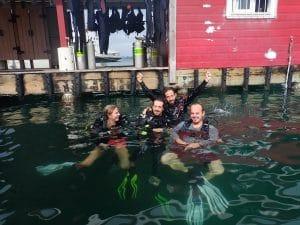 scuba diving in Bocas del Toro