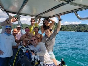 Having fun in Costa rica