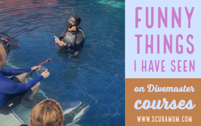 Some of the Funniest things I have seen teaching Divemaster programs